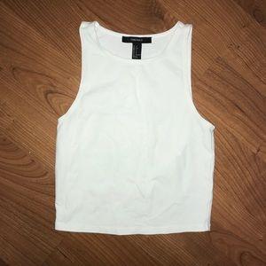Forever 21 White Tank Top Sz Small